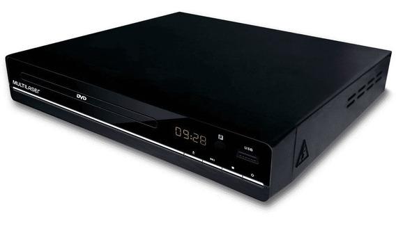 Dvd Player 3 Em 1 Multimídia Usb Sp252 - Multilaser