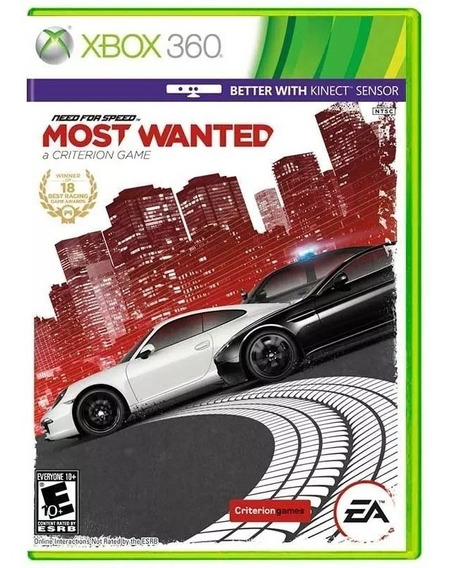 Need For Speed Most Wanted / Black List / Sonic / Medal Of Honor Xbox 360 Originais