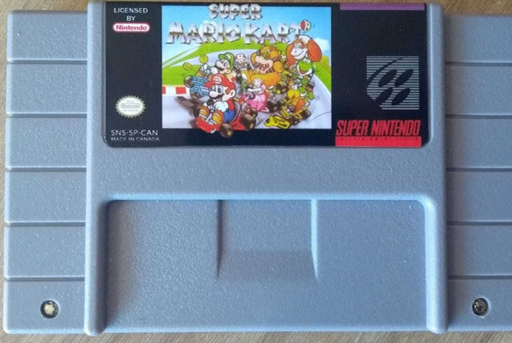 Mario Kart Japonês Original Carcaça Americana