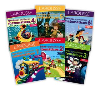 Pack Ejercicios Y Problemas Matemáticos Primaria Larousse