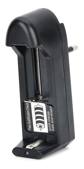 Carregador Universal De Baterias Li-ion 18650, Cr123a 14500