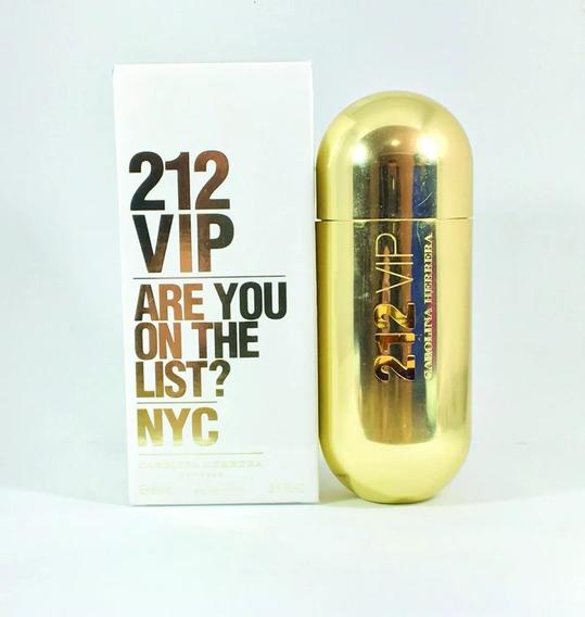 Perfume 212 Vip Eau De Parfum 50ml Original E Lacrado