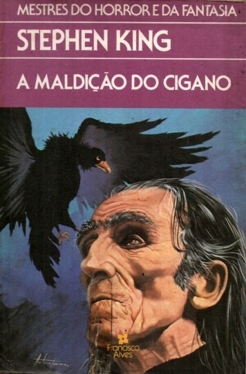 Livro A Maldição Do Cigano Stephen King