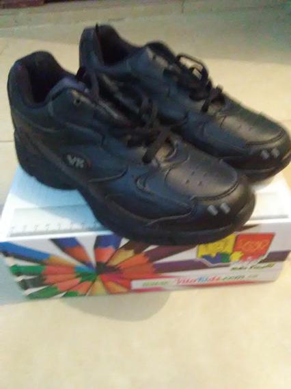 Zapatos Deportivos Vitakids Niño Escolares Talla 33
