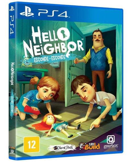 Jogo Hello Neighbor Esconde Esconde - Ps4