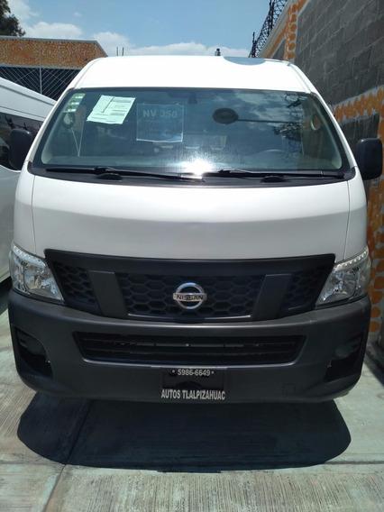 Nissan Urvan 2.5 15 Pas Amplia Aapack Seg Mt 2015 Nv350