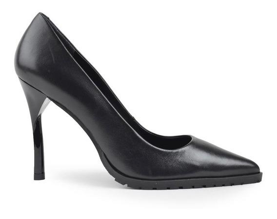 Zapatos Zapatillas De Mujer Cuero Stilletos Scrub - Ferraro