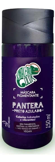 Kamaleão Color Máscara Pigmentante Pantera - Preto Azulado