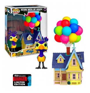 Funko Pop 05 Disney Up - Kevin With Up House Nycc2019