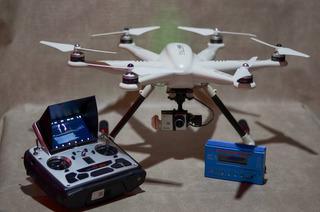 Permuto Drone Hexacoptero Walkera Tali H500