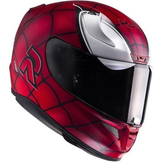 Capacete Hjc Rpha 11 Spiderman Homem Aranha 12x Sem Juros