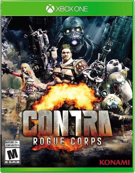 Contra Rogue Corps - Xbox One - Midia Fisica!