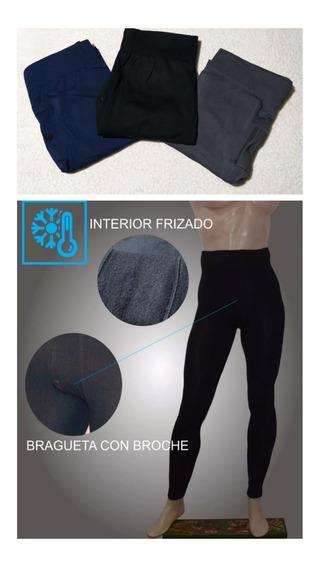Calza Termica Hombre 1ra Piel Frio Extre. Moto-sky Promo X 2