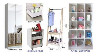Armário Cozinha + 5 Móveis Lindos Para Sua Casa, Arara, Bar
