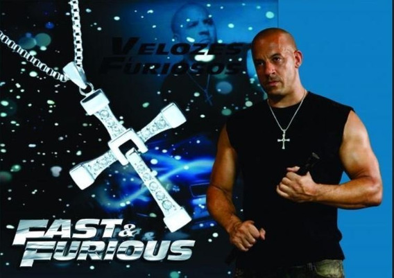 Colar Fast Furious Vin Diesel Toretto Original