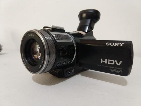 Filmadora Sony Hdv Dvcam Hvr-a1n Sem Acessórios E Bateria