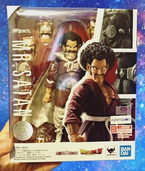 Mr. Satan Dragon Ball Z S.h.figuarts Bandai - Pronta Entrega