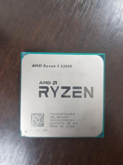 Processador Amd Ryzen 3 2200g With Radeon Vega 8 Graphics