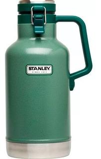 Termo Stanley Growler Green 1,9 Lts Cerveza 24 Hs Original