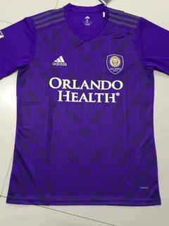 Camisa Orlando City Home 19/20 S/n°torcedor adidas Masculina