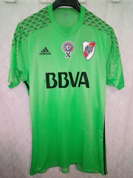 River Plate 2016 Tributo Chapecoense Talle L #18 Mayada
