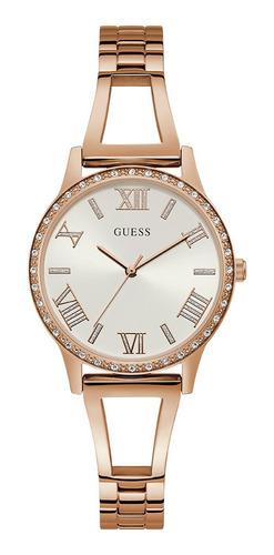 Reloj Para Dama Guess Lucy W1208l3 Oro Rosa