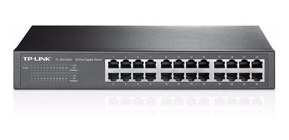 Switch Tp-link Gigabit 24 P Tl Sg1024d Rack O Escritorio