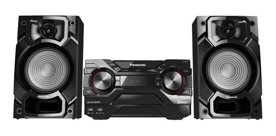 Aparelho De Som Pequeno Panasonic, Rms 450w Muito Potente!