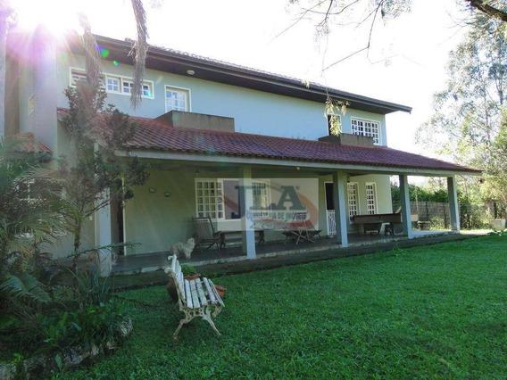 Casa De Campo Com 3 Suítes (2 Demi) À Venda, 500 M² Por R$ 1.100.000 - Bosque Merhy - Quatro Barras/pr - Ca0079