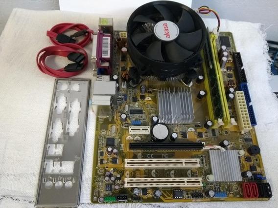 Placa Mãe Positivo Pos-ag31ap + Pentium Dual Core + 2 Gb Ram