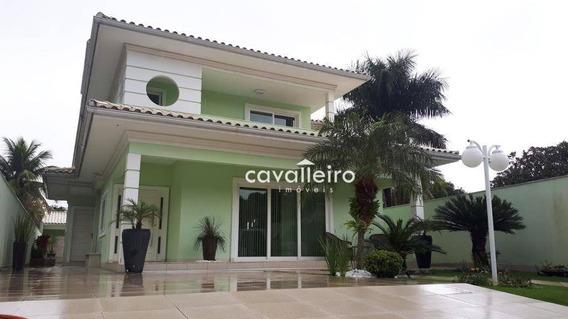 Casa Residencial À Venda, Centro, Maricá. - Ca3108
