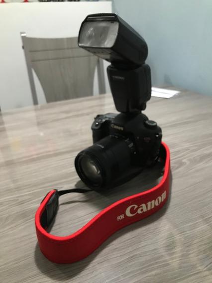 Câmera Canon Eos 7d Completa
