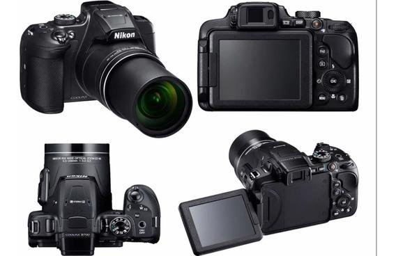 Câmera Nikon Coolpix B700 4k + Cartão De Memória De 32 Gb