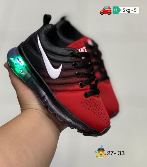 Zapatos Nike Air Max Dif Niños Niñas 27 A 33 Skg 5