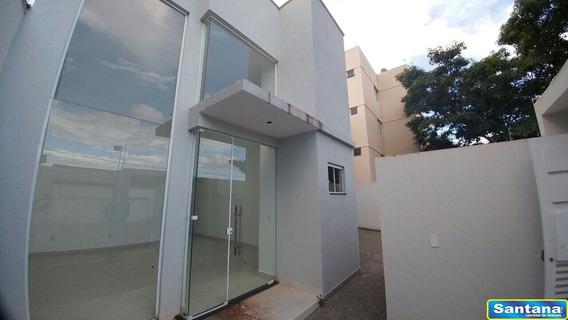 05536 - Sobrado 4 Dorms. (4 Suítes), Bandeirantes - Caldas Novas/go - 5536