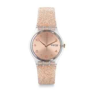 Reloj Swatch Glitterrose Ge716   Original Envío Gratis