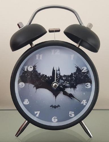 Imagen 1 de 2 de Reloj Despertador Estilo Vintage Batman Retro