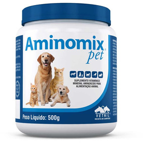 Aminomix Pet Pó 500g - Vetnil