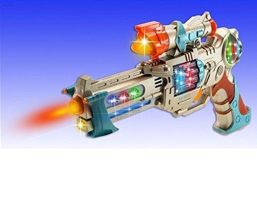 Pistola De Pistola Wolvol Kids Police Para Niños Con Luces Y