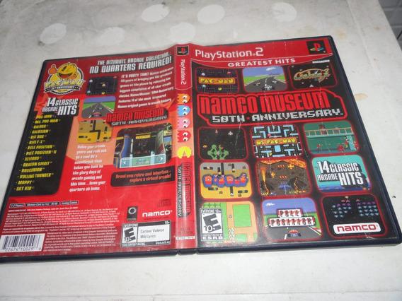 Namco Museum 50 Th Aniversary Original Ps2 Midia Red Label