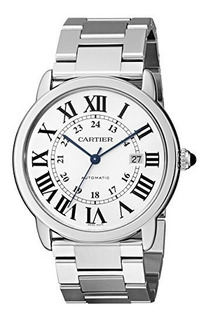 Reloj Cartier W6701011 Ronde Solo De Acero Inoxidable Para H