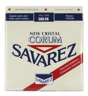 Encordado Guitarra Clasica Savarez 500 Cr Cristal Corum