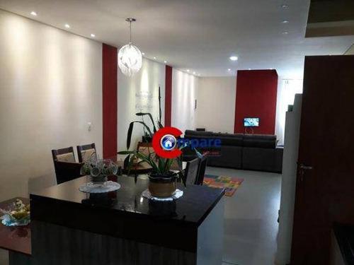 Sobrado Com 4 Dormitórios À Venda, 300 M² Por R$ 700.000,00 - Jardim Doraly - Guarulhos/sp - So1867