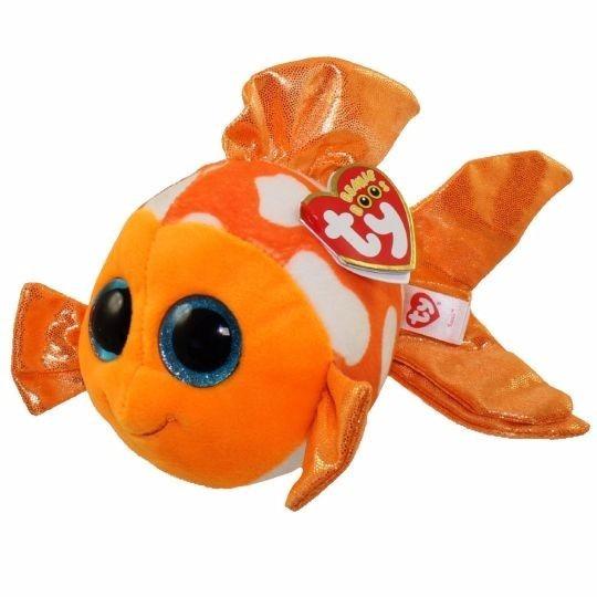 Pelúcia Beanie Boos Sami Peixe Laranja Nemo Ty