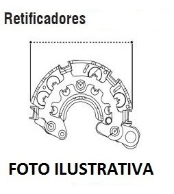 Ponte Retificadora P/ S-10 2.5 Flex 160a - Journey