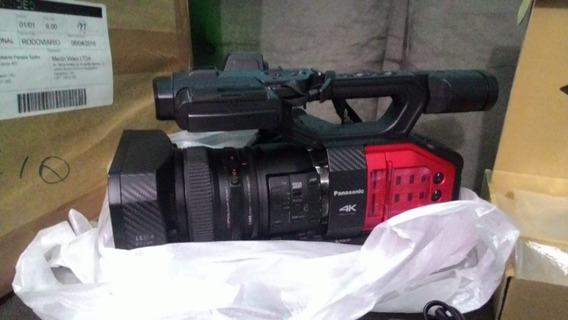 Filmadora Panasonic Ag Vx200 4k + 3 Baterias + Mic + Bolsa!!