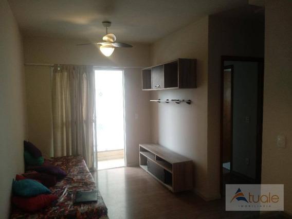 Apartamento Residencial Para Locação, Parque Bom Retiro, Paulínia. - Ap4907