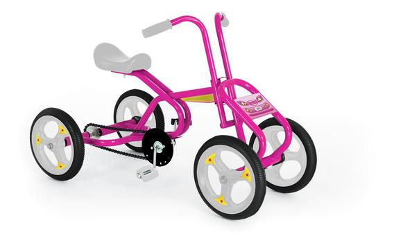 Cuatriciclo Infantil A Pedal Jeico Ent-50489 C/ Cadena