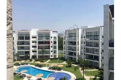 Departamento En Renta, Paraiso Country Club, Morelos, Penthouse, Hermosas Áreas Comunes,