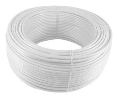 Imagen 1 de 1 de Alambre O Cable Rígido N12'' Blanco X 100 Metros Procables
